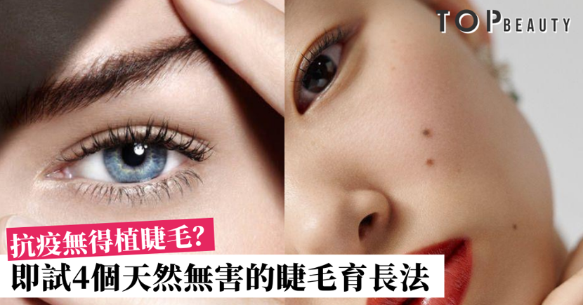 【睫毛育長有辦法】居家抗疫不如展開育睫計劃!即學4個天然不貴的育睫術!