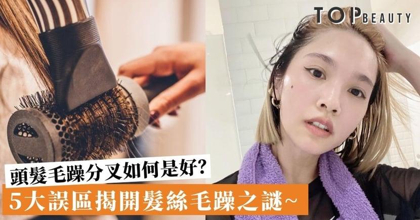 損害頭髮的5大NG行為!邊看電視邊吹頭要不得 再貴吹風筒都是徒然~