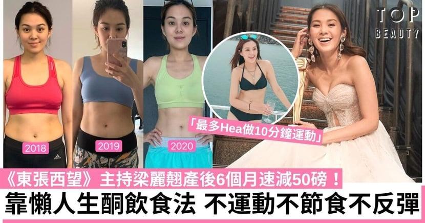 【生酮飲食】《東張西望》主持梁麗翹用半年時間速減50磅  拍片分享修身心得!