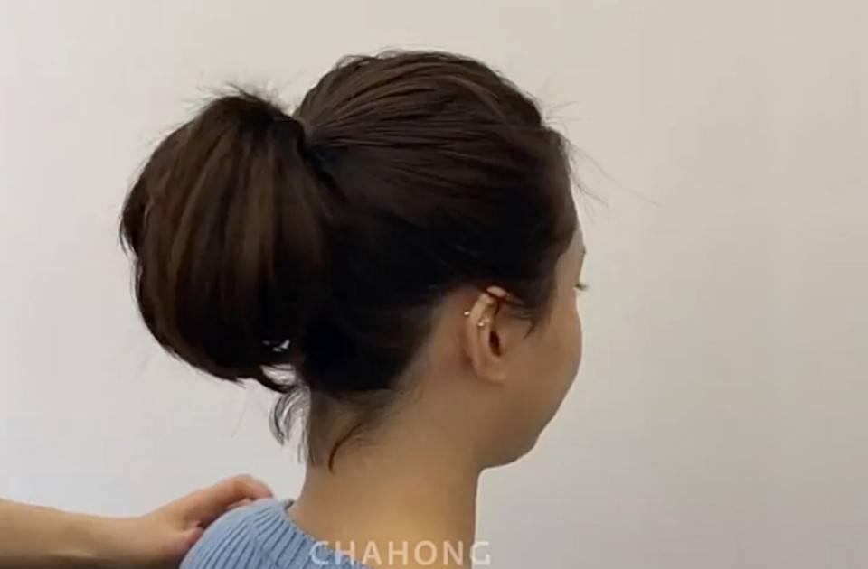 短髮高馬尾