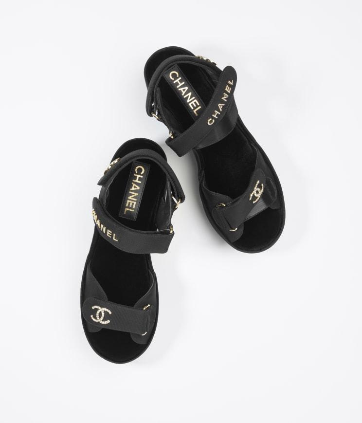 Chanel涼鞋好穿
