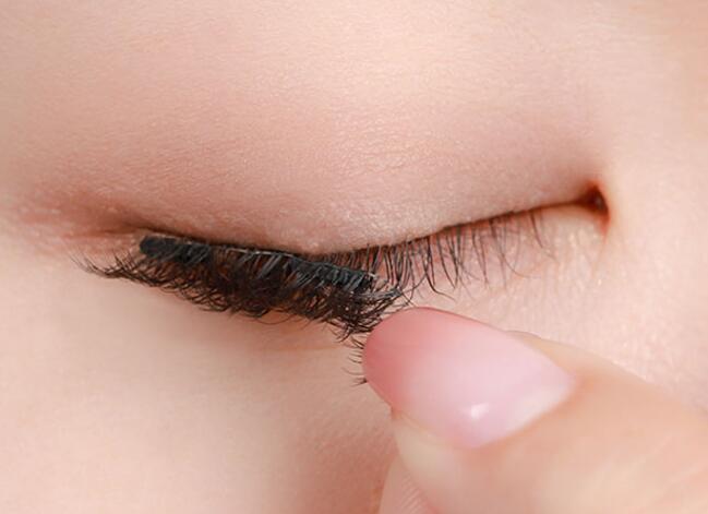 不同眼皮貼假眼睫毛