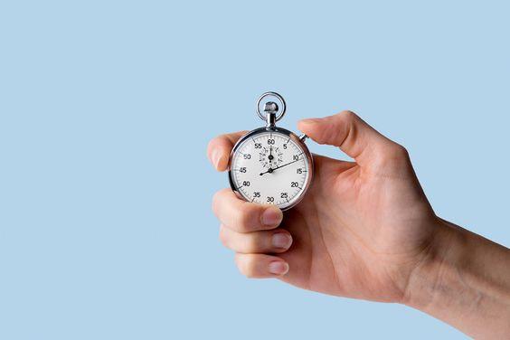 準時下班:為自己每個工作計時。