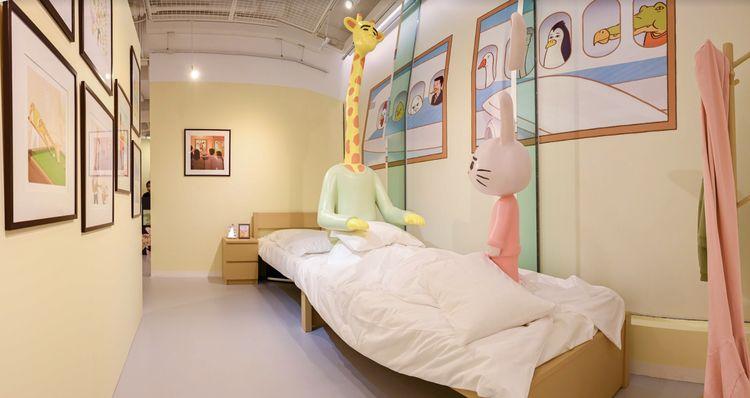 展覽重現多個Keigo的作品場景