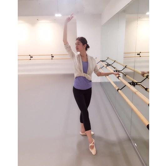 Suki徐淑敏自我增值學芭蕾舞。