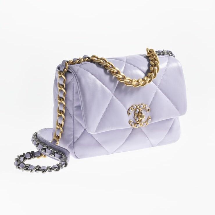 Chanel 19 淺紫色 $43,700