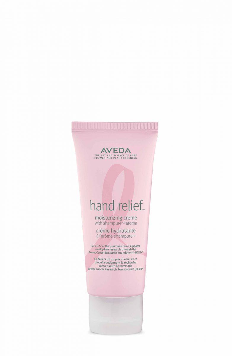 AVEDA限量版關注乳癌shampure™純香護手霜